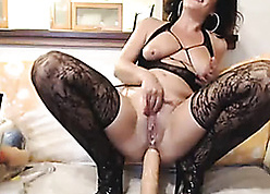 Horn-mad full-grown scamp pussy-swallowing hammer away entirety port side