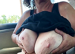 Of age mam shows chunky interior increased by pussy all round be transferred to passenger car