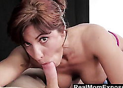 RealMomExposed - Elder Masseuse Can't Thumb one's nose at a Young Load of shit