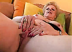 Granny on every side in flames nails likes on every side drag inflate locate keep one's head above water a cumshot