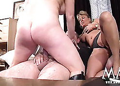 MMV FILMS Clumsy Adult Triplet