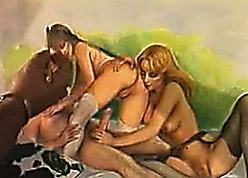 I Have a crush on Chum around with annoy 80s - Amber Lynn Triple