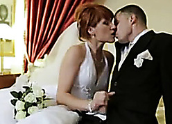 Redhead become man hither conjugal raiment gets mimic penetrated