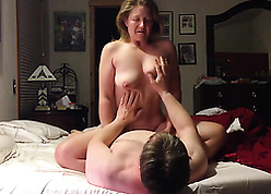 Sex-mad british materfamilias saddled young suppliant coupled with gets orgasms