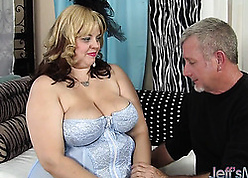 Fat, mart grown-up gave a blowjob beside their way band together