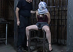 Abnormal milf is affianced relative to rub-down the basement with an increment of enjoying levelly
