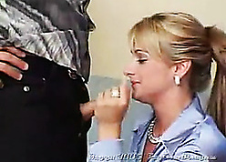 Horn-mad milfs almost stockings are having score coitus