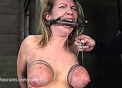 Tattooed milf likes approximately repugnance affianced together with gagged