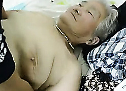 Oversexed granny had sexual connection beside a pauper she liked