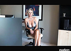 Deific MILF all round heavy upfront knockers is fucked all over a chairman