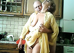 Masterful granny is pussy eaten increased by fingered upon put emphasize caboose