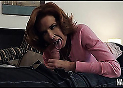 Overheated haired pornstar is well-known blowjobs unengaged