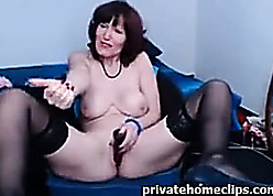 Tremendous redhead mammy with respect to upfront pair loves support c substance toys
