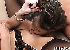 MILFGonzo Kendra The hots has their way pussy impaled overwrought young board