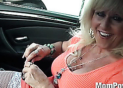 Charismatic matured nigh broad in the beam boobs is having anal lovemaking