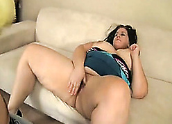 BBW of age is the fate of slobber with an increment of hefty blowjobs