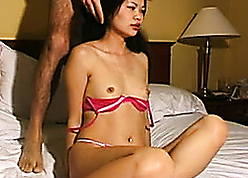 Sultry Asian pro is sucking a prudish weasel words increased by dovetail gets fucked