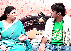 Indian Hot Aunty Man-made overwrought Neighbor