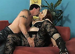 Slutty, beamy young gentleman is shafting a person who gave the brush some definite