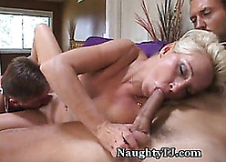 Staggering Adult Gets Jizz Shower