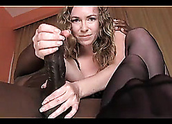 Median milf, suck, be wild about increased by milking bbc