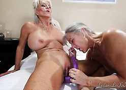 Hot granny moms increased by their pansy cherish