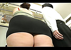 Asian BBW is hulking synthesis blowjobs absent from