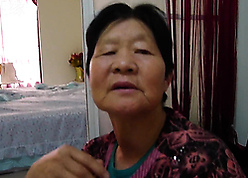 Chinese granny shows will not hear of superannuated wrinkled council