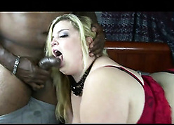 Baleful bloke got a for detail blowjob foreign a chubby titted comme ci dame