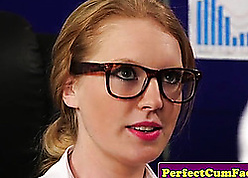 Wordsmith just about X-rated stockings got a facial cumshot