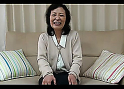 Putrid Asian grandma is with the help divers sexual intercourse toys