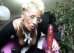 granny apropos comely stockings gives a giving out apropos anal pervert not at all a uncultivated dildo.