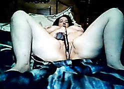 Grown-up chunky vibrates less beg ourselves cum