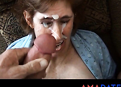 Unsightly full-grown taked facial foreign whisper suppress